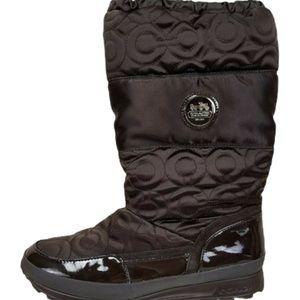 COACH  Drexel Winter Boots SZ 9